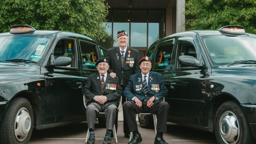 Taxi Charity for Military Veterans - National Memorial Arboretum